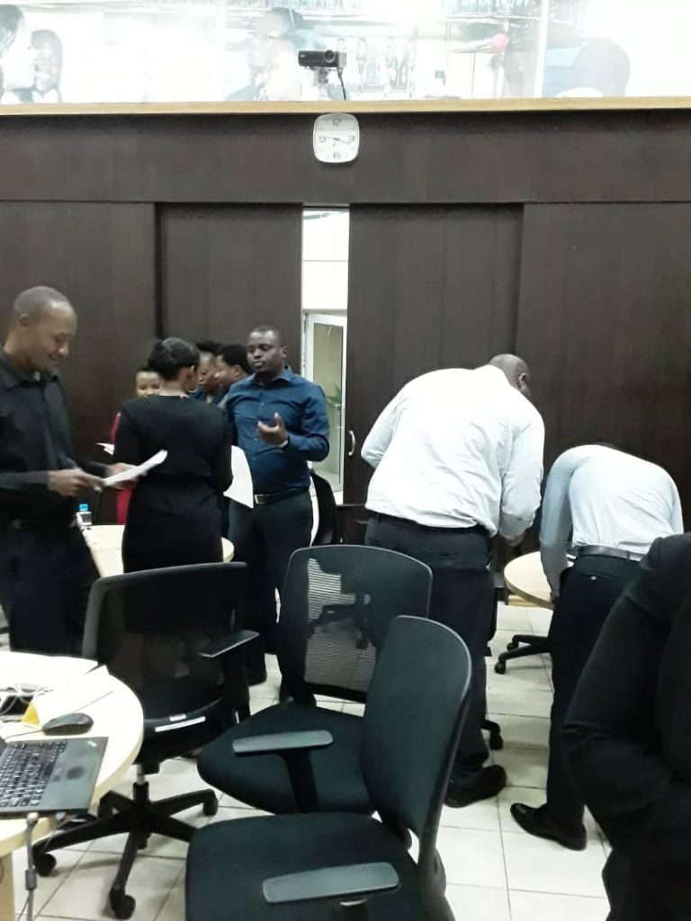 Career Planning Session with Standard Bank Malawi Finance Team