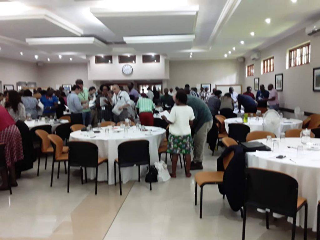 Staff Retreat with USAID